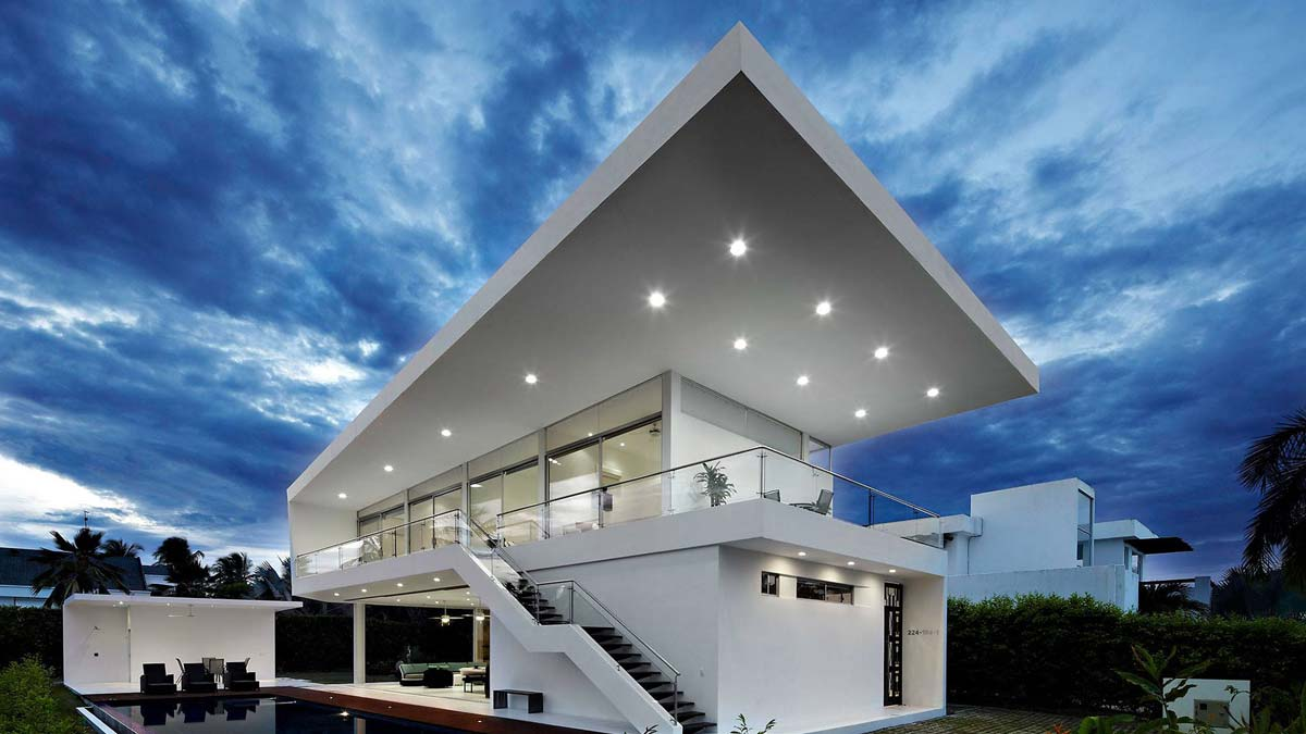 Dazzling Retreat Resort with the amazing roof designs